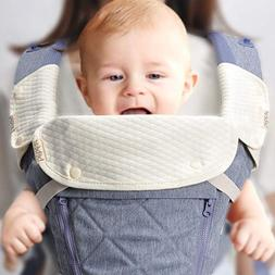 Bebamour Natural Baby Drool and Teething Pad for All Carry P