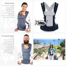 beco gemini baby carrier cool navy mesh