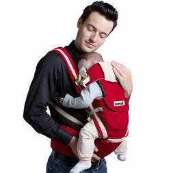 Beemoon 9-in-1 Baby Carrier Ergonomic Backpack Hip Seat Soft