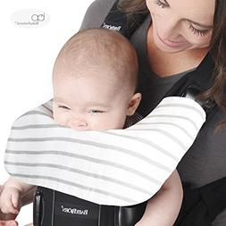 Baby Bjorn Carrier One Drool Cover 100% Organic Bamboo K'u