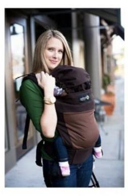 Boba 3G Organic Baby Carrier Chestnut Print- Brand New