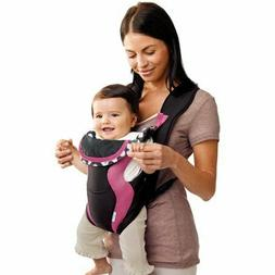 Evenflo Breathable Baby Carrier, Gray Chevron & Soft Infant