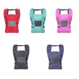 Breathable Baby Carrier Infant 3D Mesh Design Backpack All S