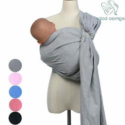 Breathable Baby Ring Sling Carrier Soft Baby Wrap For Newbor
