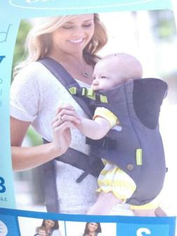 Infantino Breathe Vented Baby Carrier Sporty Grey Holds 8-25