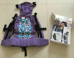 BECO BUTTERFLY 2 Baby Carrier with Infant Insert Purple