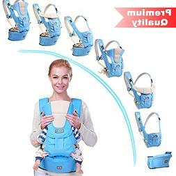 BABY CARRIER with HIP SEAT for 0-36 Months Ergonomic Baby Ca