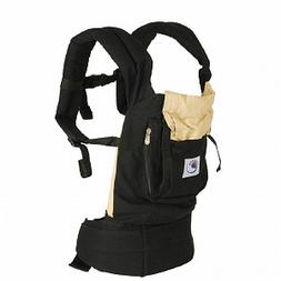 Ergobaby Baby Carrier, Black and Camel, 1 ea