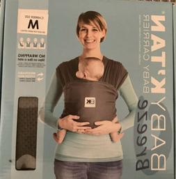 Baby K'tan ORIGINAL Baby Carrier, Black, X-Small