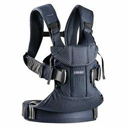 BABYBJÖRN New Baby Carrier One Air 2019 Edition, Mesh, Navy