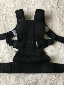 Baby Bjorn Carrier One Air Mesh Black Front & Back Carry