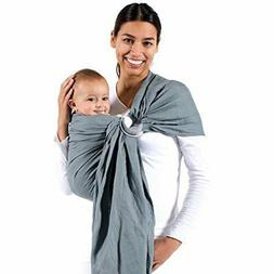 Beco Cloud Ring Sling Carrier - Fashionable Comfortable Gray