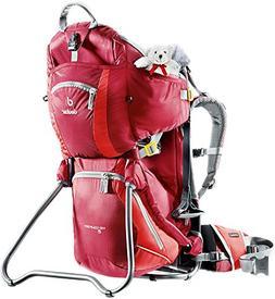 Deuter Kid Comfort 2 Framed Child Carrier for Hiking, Cranbe