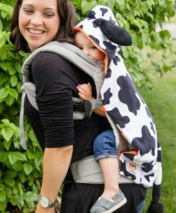 """CuddleRoo """"COW""""  Baby Carrier Cover-Soft Plush Fabric With a"""