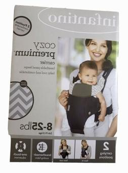 Cozy Premium Baby Carrier Infantino 2 Positions  8-25 Lbs.