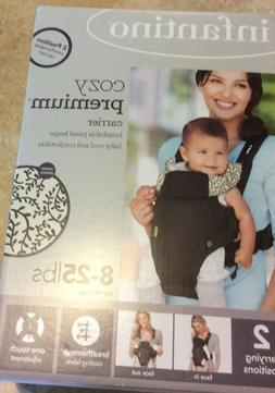 Cozy Premium Baby Carrier Infantino 2 Positions Brand New in