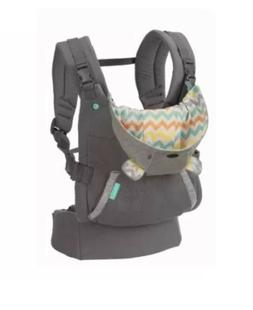 Infantino Cuddle Up Ergonomic Hoodie Carrier - Grey