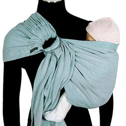 DIDYMOS DidySling Ring Sling Baby Carrier Ocean Organic Cott
