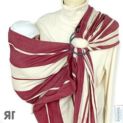 DIDYMOS DidySling Ring Sling Baby Carrier, Standard Stripes