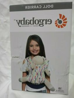 ErgoBaby Doll Carrier in Doodles Pattern Ergo Baby RARE FREE