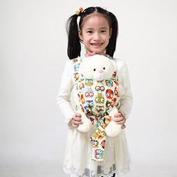 Sigzagor Baby Doll Carrier Mei Tai Sling Toy For Kids Childr