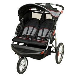Double Baby Stroller Jogger Outdoor Kids Jogging Carrier Lux