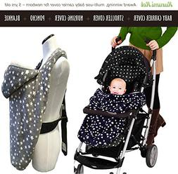 Stroller Cover and Baby Carrier Cover. Double Fleece Winter