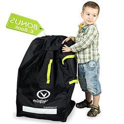 VolkGo DURABLE Car Seat Travel Bag with BONUS e-BOOK ––
