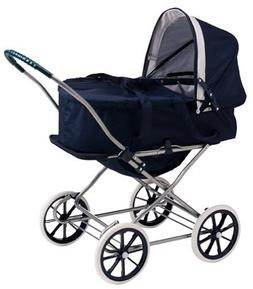 Badger Basket English Style 3-in-1 Doll Pram, Carrier, and S