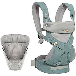 Ergobaby Bundle - 2 Items: Icy Mint All Carry Position 360 M