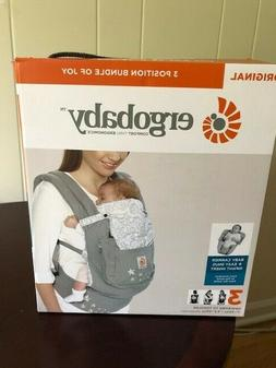 ERGO BABY Adapt 3 Position Baby Carrier newborn to toddler G