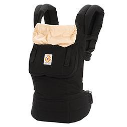 Ergo Baby Carrier Original - Black/Camel -100% Authentic Erg