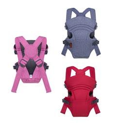 Ergonomic 3 in 1 Newborn Baby Carrier Breathable Cool Soft M