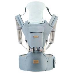 Ergonomic 360° Baby Soft Carrier, Comfortable Adjustable Po