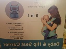 Brighter Elements Ergonomic Baby 5 Position Carrier. 0619