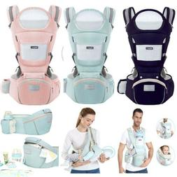 Baby Carrier, 6-in-1 Multifunction Baby Carrier Hip Seat for