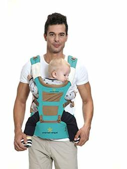 Brighter Elements Ergonomic Baby Carrier with Hip Seat 5 Pos