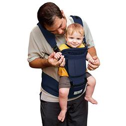 BabySteps Ergonomic Baby Carrier with Hip Seat for All Seaso