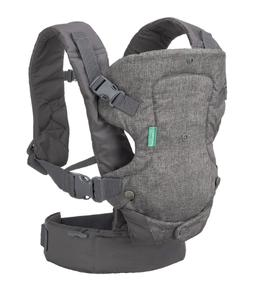 Infantino Flip 4-in-1 Convertible Carrier, Grey w/ Multiple