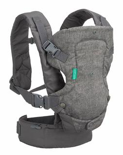 Infantino Flip Advanced 4-in-1 Convertible Carrier, Grey - *