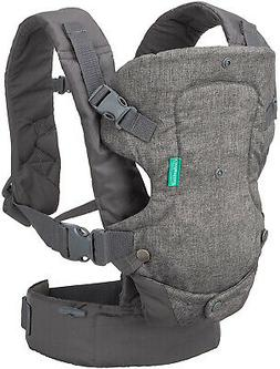Infantino Flip Advanced 4-in-1 Convertible Baby Carrier, Lig