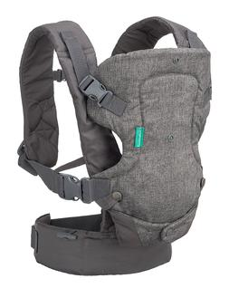 Infantino Flip Advanced 4-in-1 Convertible Carrier, Light Gr