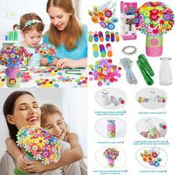 Flower Crafts For Kids Fun Diy Craft Kit For Boys Girls, Art