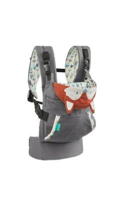 Front Carry Baby Carrier With Fox Hoodie For Mom Dad Small C