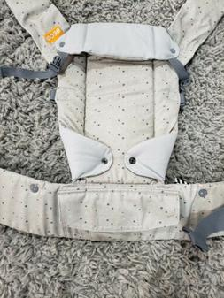 Beco Gemini 4-in-1 Baby Carrier, French Dot, Grey, Blue, Pin