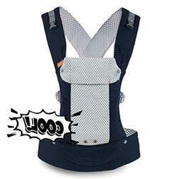 Gemini Performance Baby Carrier By Beco - Cool Navy - Multi-