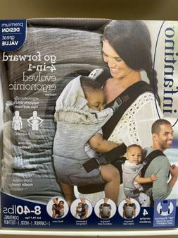 Infantino Go Forward 4-In-1 Evolved Ergonomic Baby Carrier -