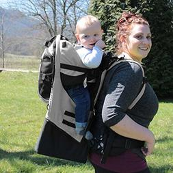 Gorilla Carriers Gray Baby Carrier Backpack