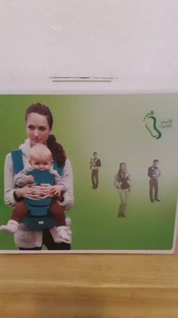 Hip Seat Baby Carrier, Multifunctional, Baby Steps, Green