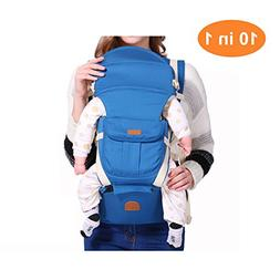 Baby Hip Seat Carrier 10 in 1 Ergonomic Baby Carrier Wrap Ad